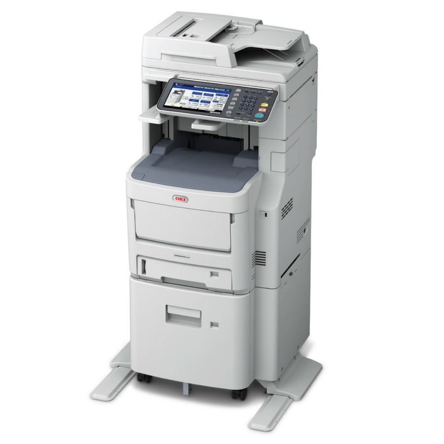 Okidata Copiers:  The Okidata MPS4242mc+ MFP Copier